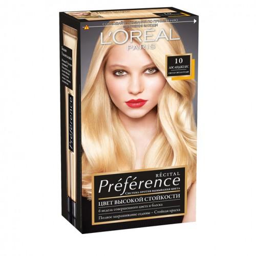 Preference Краска для волос от французской компании L'Oreal подарит волосам